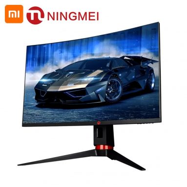€297 with coupon for Youpin Ningmei Curved Monitor 27 Inch GN276CQ from EU GER warehouse TOMTOP