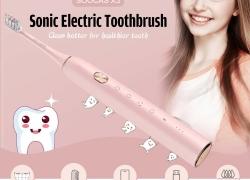 $ 34 med kupon til Youpin SOOCAS X3 Sonic Electric Smart Tandbørste Global Version fra GEARVITA