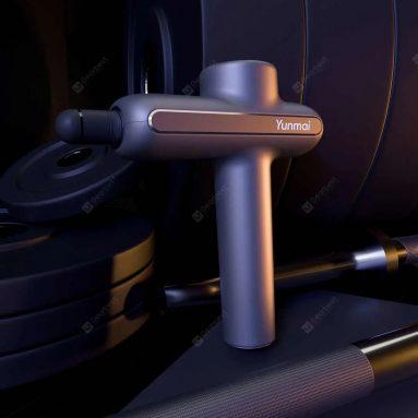 €96 with coupon for Yunmai Pro Basic Muscle Massager Pistol Pro Basic 60W Powerful 2600mAh From Xiaomi Youpin – EU Warehouse EU Plug from GEARBEST