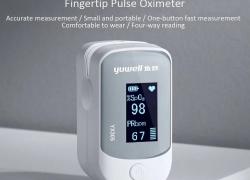 $ 28 med kupon til Yuwell YX305 Fingertip Pulse Oximeter Blood Oxygen Monitor fra Xiaomi Youpin fra GEARVITA