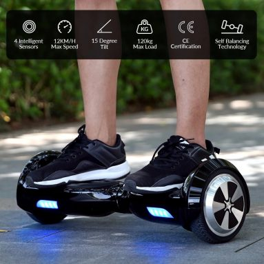 $ 169 s kuponem pro ZANMAX R1 Smart Self Balancing Scooter Racing Hoverboard od GearBest