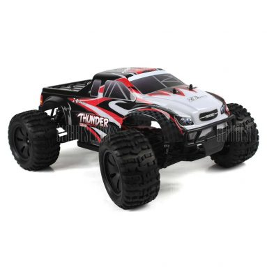$123 with coupon for ZD Racing 10427 – S 1:10 Big Foot RC Truck – RTR  –  BRUSHLESS VERSION  BLACK AND RED from GearBest