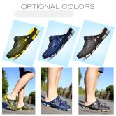 $9 with coupon for ZEACAVA Fashion Summer Men Odourless Breathable Beach Slippers from GearBest