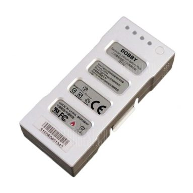 $ 17 với phiếu giảm giá cho ZEROTECH DOBBY 7.6V 970mAh 2S Lithium Battery - WHITE từ GearBest