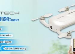 ZEROTECH Dobby Pocket Selfie Drone FPV mit 4K HD Kamera GPS Mini RC Quadcopter from RCMaster