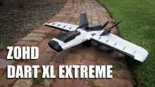 BANGGOODのZOHD Dart XL Extreme 90mm Wingspan BEPP FPV Aircraft RC Airplane PNP UK倉庫のクーポン付き1000