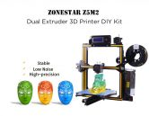 $199 with coupon for ZONESTAR Z5M2 Dual Extruder 3D Printer DIY Kit – BLACK AND ORANGE EU PLUG from GEARBEST