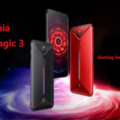 €420 with coupon for ZTE Nubia Red Magic 3 4G Smartphone 8GB RAM 128GB ROM Global Version from GEARVITA