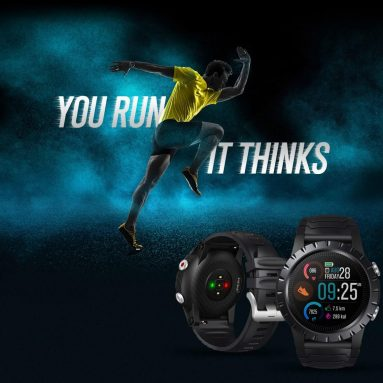 € 54 med kupong for Zeblaze Stratos Premium Multi-sport GPS Smartwatch 4-satellitt posisjoneringssystem 50M vanntett fra TOMTOP