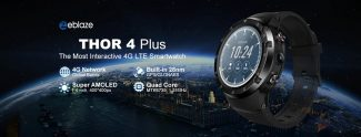 $119 with coupon for Zeblaze THOR 4 Plus 4G LTE Smart Watch Phone from TOMTOP
