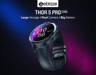 € 118 עם קופון ל- Zeblaze THOR 5 PRO 3G + 32G מצלמה כפולה 800mAh סוללה גדולה 4G LTE טלפון שעון חכם מבנגנג