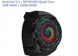 € 63 med kupon til Zeblaze THOR PRO 3G 1.53inch IPS Display 1GB + 16GB GPS WIFI Android 5.1 Kamera Smart Se telefon fra BANGGOOD