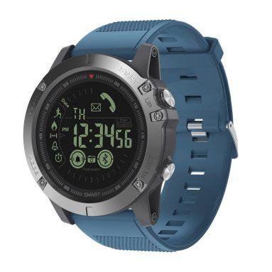 € 15 avec coupon pour Zeblaze VIBE 3 Flagship Record d'activité intense toute la journée 33 Mois Veille Veille Sport Smart Watch - Bleu de BANGGOOD
