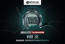 $ 22 mit Gutschein für die Zeblaze VIBE 3S Outdoor Sport Smartwatch 1.24inch FSTN Vollsichtanzeige von GEARVITA