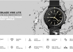 €12 with coupon for Zeblaze VIBE LITE 5ATM Waterproof SOS Calorie Sport Target BT4.0 Quartz Smart Watch – White from BANGGOOD