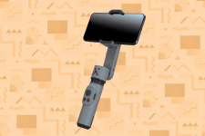 35 € med kupong för ZHIYUN Smooth X Handheld Gimbal Extension Rod Stick Stabilizer Portabel Palm Size Selfie Stick för iPhone Huawei Xiaomi Tiktok YouTube Live Stream Vlog Video Selfie - Gray Stablizer Only from BANGGOOD