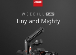$529 with coupon for Zhiyun WEEBILL LAB 3-Axis Brushless Handheld Gimbal Stabilizer with ViaTouch Control System for Mirrorless DSLR Camera from GEEKBUYING