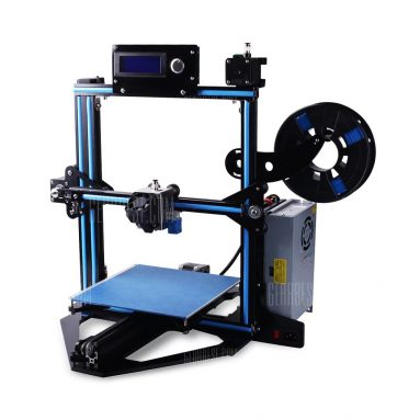 $215 with coupon for Zonestar Z5F Fast Installation DIY 3D Printer Kit  –  EU  BLUE AND BLACK from GearBest