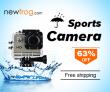 Wasserdichte Sportkamera bis zu 63% Off von Newfrog.com