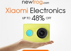 Xiaomi Electronics up to 48% off + free shipping@Newfrog.com from Newfrog.com