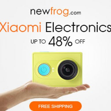 Xiaomi इलेक्ट्रॉनिक्स 48% तक + Newfrog.com से मुफ्त शिपिंग@Newfrog.com