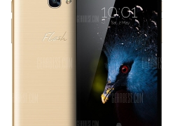 $145 with coupon for Alcatel Flash Plus 2 4G Phablet  –  GOLDEN from GearBest
