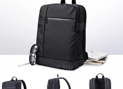 $28 with coupon for Original Xiaomi 17L Classic Business Style Men Laptop Backpack black from GearBest