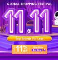 11.11 Global Shopping Festival da BANGGOOD - Buono sconto 11%