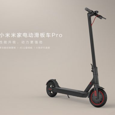 Xiaomi Mijia Electric Scooter Pro Went on Sale