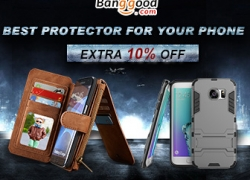 10% OFF for Iphone Samsung Cellphone Bags and Cases from BANGGOOD TECHNOLOGY CO., LIMITED
