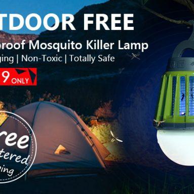 Chỉ $ 24.99 Miễn Phí Vận Chuyển cho Sorbo Không Thấm Nước Mosquito Killer USB LED Cắm Trại Đèn Lồng từ Zapals