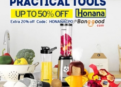 Up To 50%OFFfor Kitchen Honana Brand Practical  Tools from BANGGOOD TECHNOLOGY CO., LIMITED