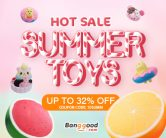 10% OFF Coupon for Hot Summer Toys & Squishy from BANGGOOD TECHNOLOGY CO., LIMITED