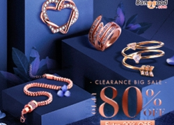 20% OFF Coupon for Jewelry & Accessories from BANGGOOD TECHNOLOGY CO., LIMITED
