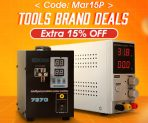 15% OFF Coupon for Electronic Brand Tools from BANGGOOD TECHNOLOGY CO., LIMITED