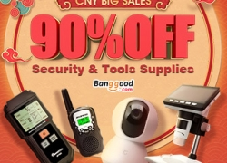 Up to 90% OFF Sales for Security & Tools Supplies from BANGGOOD TECHNOLOGY CO., LIMITED
