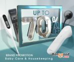 10% OFF Coupon for Baby Care & Housekeeping from BANGGOOD TECHNOLOGY CO., LIMITED