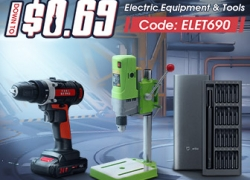 15% OFF Coupon for Electric Tools mula sa BANGGOOD TECHNOLOGY CO., LIMITED