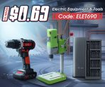 15% OFF Coupon for Electric Tools from BANGGOOD TECHNOLOGY CO., LIMITED