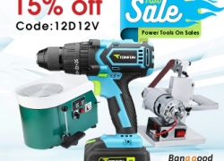 15%OFF for New & Hot Power Tools Promotion from BANGGOOD TECHNOLOGY CO., LIMITED