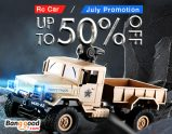 Up to 50% OFF for Rc Car & Boat Promotion from BANGGOOD TECHNOLOGY CO., LIMITED