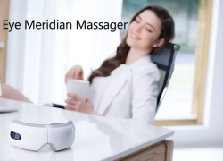 €50 with coupon for breo iSee4 Eye Meridian Massager – WHITE from GearBest