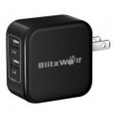 $ 4.99 sa US Warehouse! BlitzWolf® BW-S3 US Charger mula sa BANGGOOD TECHNOLOGY CO., LIMITED