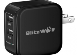 BlitzWolf® BW-S3 4.8A 24W US Charger With Power3S Tech from BANGGOOD TECHNOLOGY CO., LIMITED