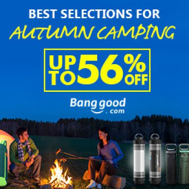 Up to 56% OFF Best selection for Autumn Camping Accessories from BANGGOOD TECHNOLOGY CO., LIMITED