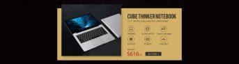 $ 616 لأفضل برنامج TABLET CUBE THINKER 3K NOTEBOOK إطلاق العالم الأول على Gearbest