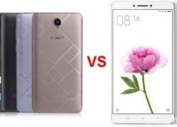 Review of Cubot Max vs Xiaomi MI MAX – Design, Antutu, Camera, Battery