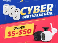 Cyber Best  Value Deal: Under $5-$50 for All Categories from BANGGOOD TECHNOLOGY CO., LIMITED