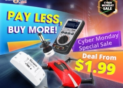 Low to $1.99 for Cyber Monday Special Sale from BANGGOOD TECHNOLOGY CO., LIMITED