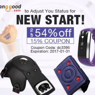 Novoroční dárky pro zdraví rodičů: Až 54% OFF od společnosti BANGGOOD TECHNOLOGY CO., LIMITED